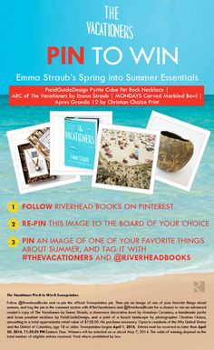 Enter to #win @Emma Zangs Straub's spring into summer Essentials in #TheVacationers #PintoWin sweepstakes! Pin this official sweepstakes pin to get started!