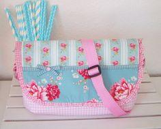 ♥ Estrellas Shoulder Bag   Flower   aus Tilda® Stoff handmade Kindertasche *