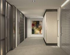Arch Viz of Lift Lobby