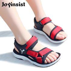 0d2204726443 Buy Boy Sandals 2018 New Children s Beach Shoes Korean Non-slip Soft  Sandals Middle Child Summer Kids Shoes