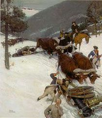 Henry Knox and the Train of Artillery, from Fort Ticonderoga, N.Y., to Cambridge, Ma.
