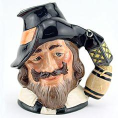 Royal Doulton Large Character Jug, Guy Fawkes
