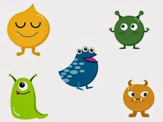 O For Tuna Orff: Sing Me A Monster--cute way to encourage solo singing!