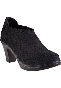 Enjoy the comfortable woven fabric Bernie Mev has become known for on this cute ankle bootie. http://www.shoegalleryonline.com/shoes/bernie-mev-shoes-chesca-pump-1052445