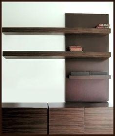 Acabados & Formas Bookcase, Shelves, Home Decor, Libraries, Shapes, Wood, Home, Shelving, Decoration Home