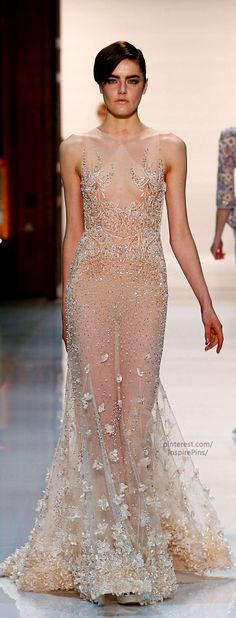 Georges Hobeika Couture Spring-summer 2014