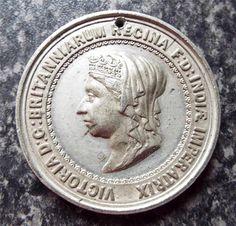 QUEEN VICTORIA 1887 GOLDEN JUBILEE MEDAL / MEDALLION