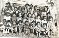 Very cute and well behaved Somali school children with their teacher. From the early 60s. Children are the future. #VintageSomalia #Ourstories