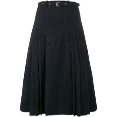 Maryam Nassir Zadeh tweed A-line skirt (13.520 RUB) ❤ liked on Polyvore featuring skirts, blue, blue tweed skirt, maryam nassir zadeh, blue a line skirt, tweed a line skirt and knee length a line skirt