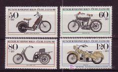 BERLIN - AÑO 1983 - MOTOCICLETAS ANTIGUAS