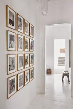 Заметки дизайнера: Декор стен - оригинальные идеи оформления стен картинами, фотографиями, зеркалами.