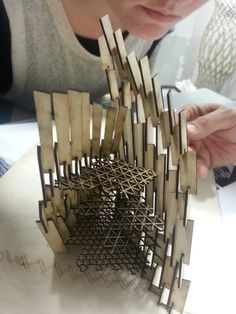 Ieva Ciocyte's Tower Generated from Euclid's Algorithm