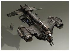 Matt Codd Concept Art: [Flat Iron Bomber]