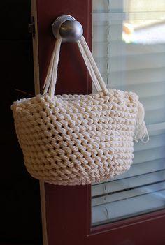 Ravelry: Triple strand bag pattern, 15mm