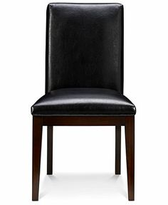 Corso Dining Room Chairs, Leather Set of 6 - Dining Room Furniture - furniture - Macy's