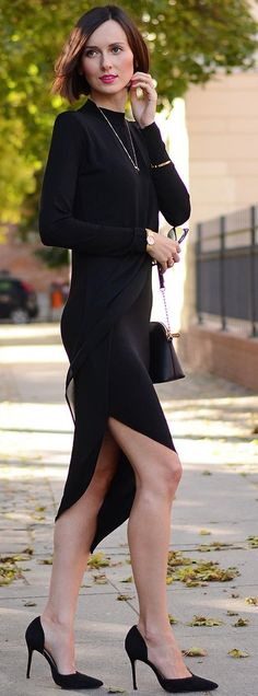 All Black Glam                                                                             Source