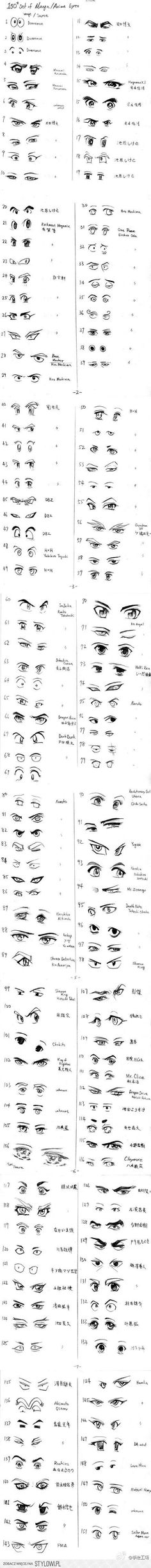 34 Ideas Drawing Reference Animals Manga Eyes For 2019 Eye Drawing, Cartoon Drawings, Art Drawings, Drawings, Manga Drawing, Design Reference, Drawing Tips, Art Tutorials, Anime Drawings