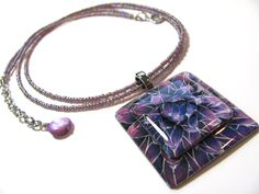 Purple Necklaces for