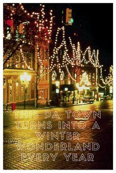 Travel   Pennsylvania   Bethlehem   Christmas City   Christmas Towns   Christmas In PA   Holiday Season