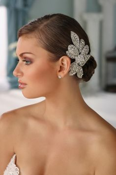 The Berger Collection Headpieces - Style 9814