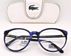 eyehuggers - Lacoste 808 Large Rim Blue and Black Marble effect Acrylic Frame, £99.00 (http://www.eyehuggers.co.uk/lacoste-808-large-rim-blue-and-black-marble-effect-acrylic-frame/)
