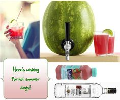 watermelon drink! Its official this will be my birthday drink! 7-4-12 party on!