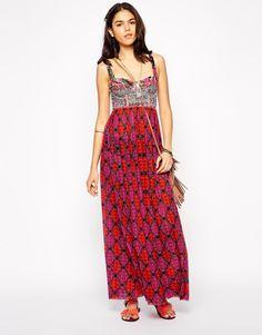 Maaji Sublime Blimey Printed Maxi Beach Dress