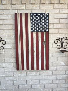 American flag, reclaimed wood flag, 4th of July, FREE SHIPPING