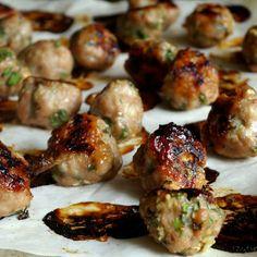 The Yum Yum Factor: Vietnamese Chicken Meatballs
