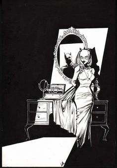 Catwoman and Batman by Joélle Jones