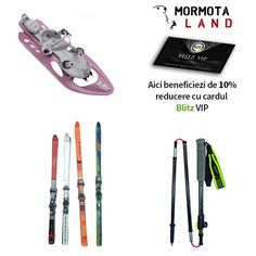 """Iarna este sezonul ideal pentru iubitorii sporturilor de iarnă! Echipează-te cu schiuri rachete de zăpadă bețe telescopice și cucerește munții!  La Mormota Land găsești toate tipurile de accesorii inclusiv încălzitoare de corp mâini și picioare pentru cei friguroși. Cu ai discount de 10%. Detalii pe www.blitz.ro/vip la categoria """"echipamente sportive și montane"""". Nail Clippers"""