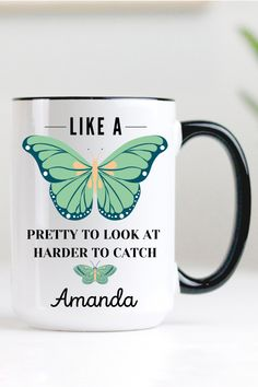 Birthday Gifts For Sister, Sister Gifts, Valentine Day Gifts, Gifts For Friends, Gifts For Mom, Valentines, Butterfly Gifts, Green Butterfly, Cute Gifts