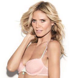 Heidi Klum models.