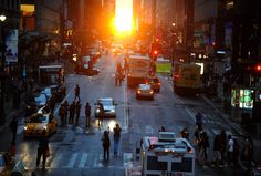 Manhattanhenge Photos