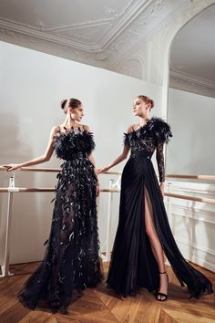 Chic Black Outfits, Prom Dress Couture, International Fashion Designers, Ball Gowns Evening, Fashion Show Collection, Marchesa, Fashion Pictures, Look Fashion, Couture Fashion