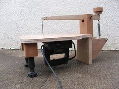Home Made Scroll Saw: