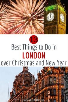 London, as well as many other nice European cities, gets dressed up for the holidays. Here are the best things to do in London over Christmas and New Year. Christmas Markets Europe, London Christmas, Christmas And New Year, Christmas Breaks, England Christmas, Christmas Christmas, Xmas, Christmas Getaways, Christmas Travel