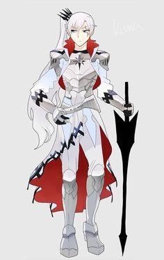 Knight Weiss by kumafromtaiwan.
