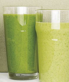 The avocado makes this smoothie creamy without any additional dairy. Get the recipe for Spinach Smoothie With Avocado and Apple.