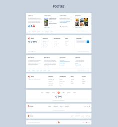 Huge and powerful UI kit for Sketch and Photoshop. With more than carefully crafted elements in 10 categories, this kit is designed to save your time and money. Wireframe Design, Navigation Design, Footer Design, Interface Design, Brochure Design, Layout Design, User Interface, Footer Web, Website Footer