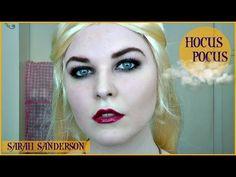 HOCUS POCUS Sarah Sanderson Tutorial | HALLOWEEN 2015 Halloween 2015, Hocus Pocus, Youtube, Youtubers, Youtube Movies