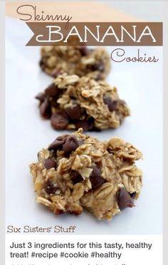 Skinny Banana Cookies... #Food #Drink #Trusper #Tip