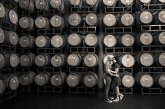 Michelle & Jared's Wilson Creek Winery Engagement http://justbridalbeauty.com/real-life/e-sessions/michelle-jareds-wilson-creek-winery-engagement/