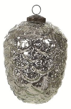 Creative Co-Op Mercury Glass Ornament available at #Nordstrom