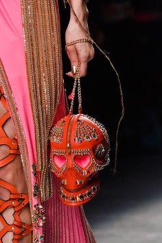 Manish Arora skull handbag