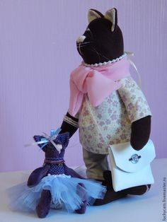 """Кошечка """"Елизавета"""" - кот,котик,кошечка,интерьерный кот,интерьерная игрушка"""