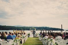 Lake Wedding-This is what I want!