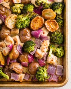 Recipe: Sheet Pan Honey-Dijon Chicken and Vegetables — Recipes from The Kitchn