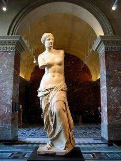 Aphrodite of Milos, better known as the Venus de Milo, is an ancient Greek statue and one of the most famous works of ancient Greek sculpture.