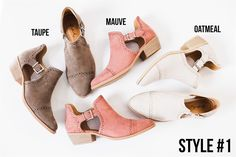 Summer Ankle Bootie Collection   7 Styles   Jane